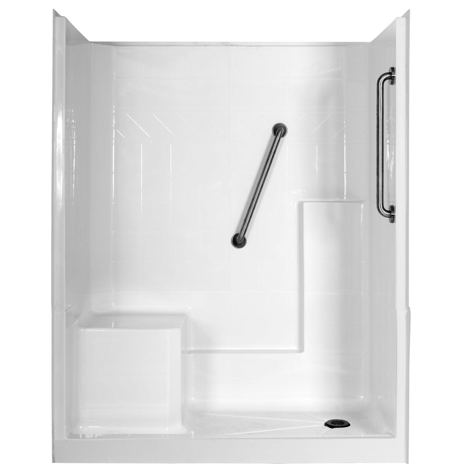 best offers on huron shower enclosures at homeward bath lt6023plw lt6023rw lt6023dl 1