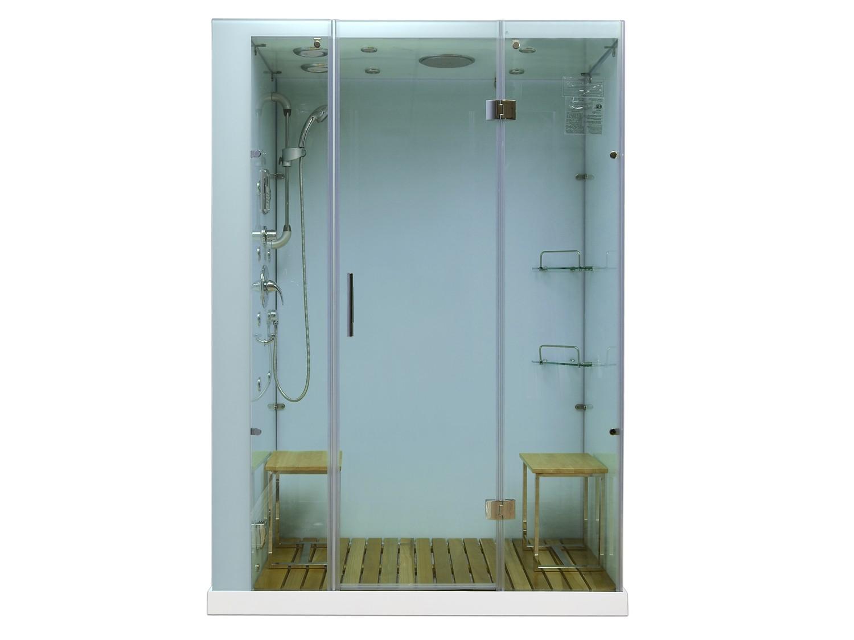 Orion Plus White Steam Showers With Homeward Bath