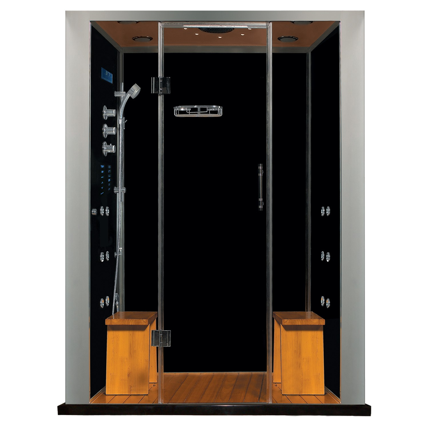 royal care series steam showers ws112_with_stone base